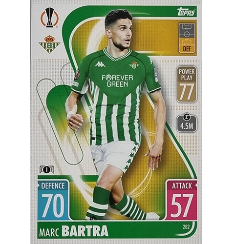 Topps Champions League 2021/2022 Nr 282 Marc Bartra