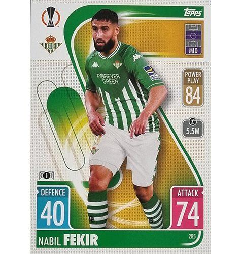 Topps Champions League 2021/2022 Nr 285 Nabil Fekir