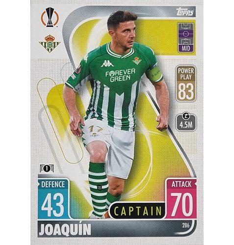 Topps Champions League 2021/2022 Nr 286 Joaquin