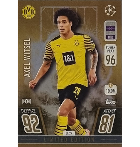 Topps Champions League 2021/2022 LE 29 Axel Witsel