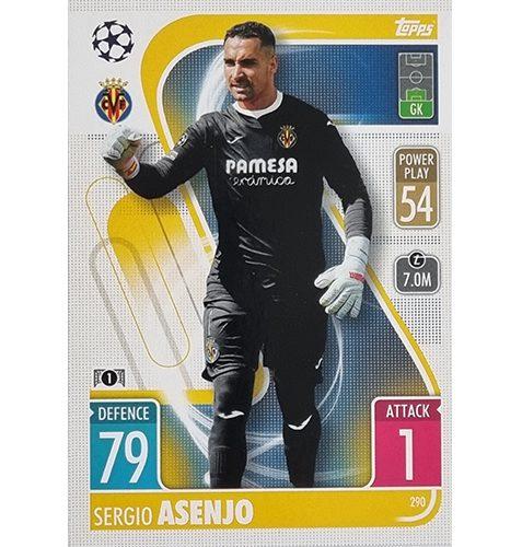 Topps Champions League 2021/2022 Nr 290 Sergio Asenjo