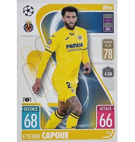 Topps Champions League 2021/2022 Nr 293 Etienne Capoue