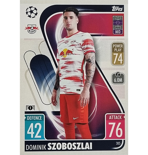 Topps Champions League 2021/2022 Nr 305 Dominik Szoboszlai