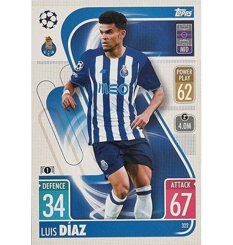 Topps Champions League 2021/2022 Nr 322 Luis Diaz