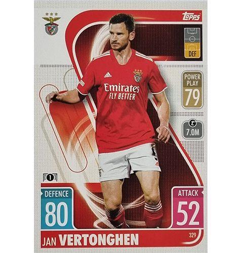 Topps Champions League 2021/2022 Nr 329 Jan Vertonghen