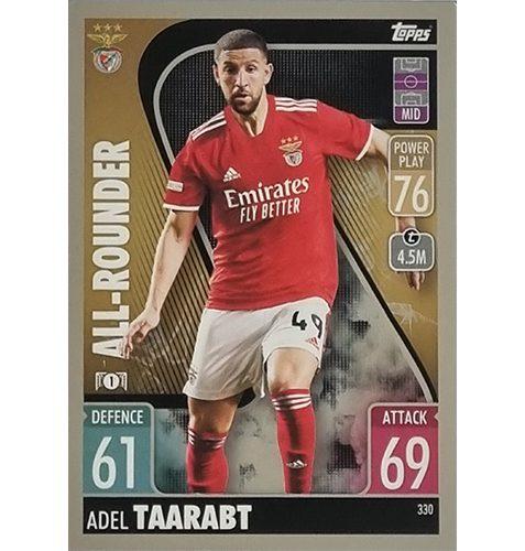 Topps Champions League 2021/2022 Nr 330 Adel Taarabt