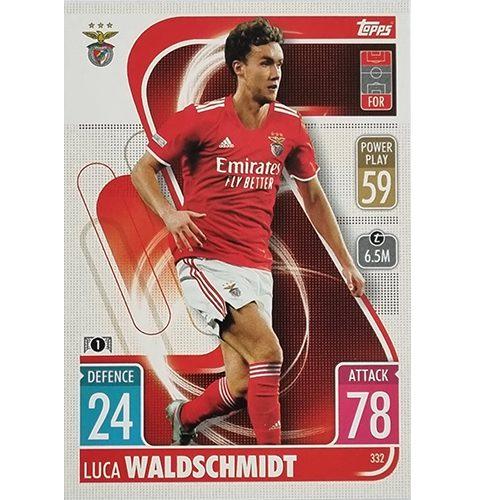 Topps Champions League 2021/2022 Nr 332 Luca Waldschmidt