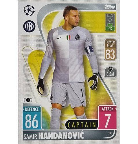 Topps Champions League 2021/2022 Nr 335 Samir Handanovic