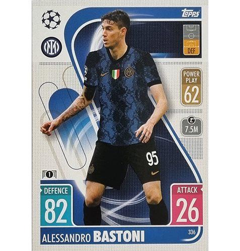 Topps Champions League 2021/2022 Nr 336 Alessandro Bastoni