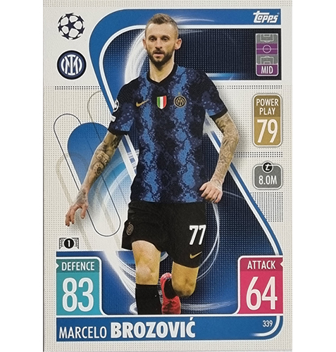 Topps Champions League 2021/2022 Nr 339 Marcelo Brozovic