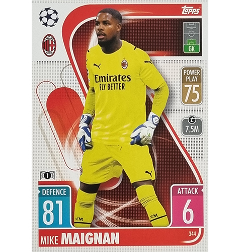 Topps Champions League 2021/2022 Nr 344 Mike Maignan