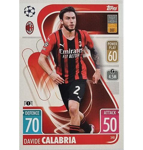 Topps Champions League 2021/2022 Nr 348 Davide Calabria
