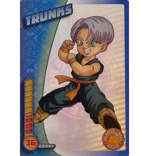 Panini Dragon Ball Super Trading Cards Nr 035 Trunks