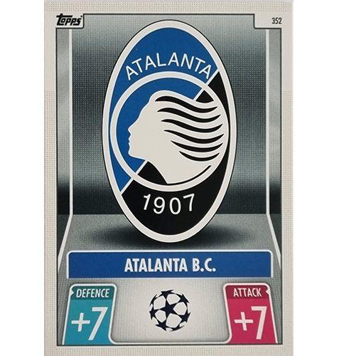 Topps Champions League 2021/2022 Nr 352 Atalanta BC