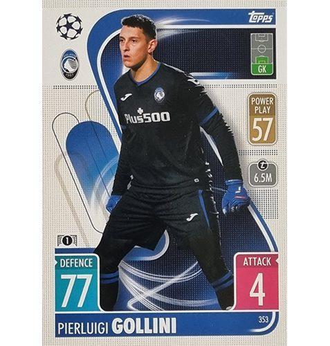 Topps Champions League 2021/2022 Nr 353 Pierluigi Gollini