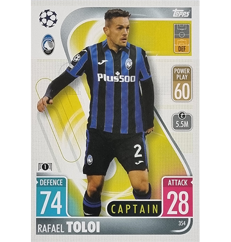 Topps Champions League 2021/2022 Nr 354 Rafael Toloi