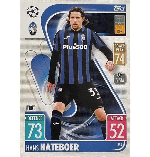 Topps Champions League 2021/2022 Nr 355 Hans Hateboer