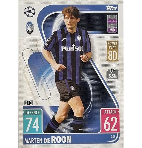 Topps Champions League 2021/2022 Nr 356 Marten De Roon