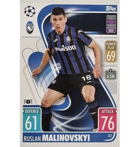 Topps Champions League 2021/2022 Nr 357 Ruslan Malinovski
