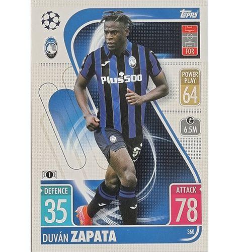 Topps Champions League 2021/2022 Nr 360 Duvan Zapata
