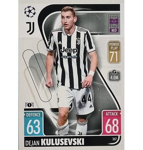 Topps Champions League 2021/2022 Nr 367 Dejan Kulusevski