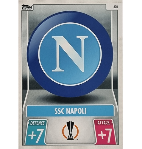 Topps Champions League 2021/2022 Nr 370 SSC Napoli Team Badge