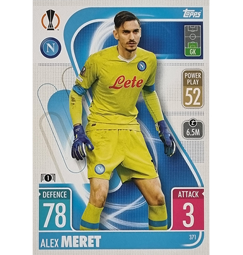 Topps Champions League 2021/2022 Nr 371 Alex Meret