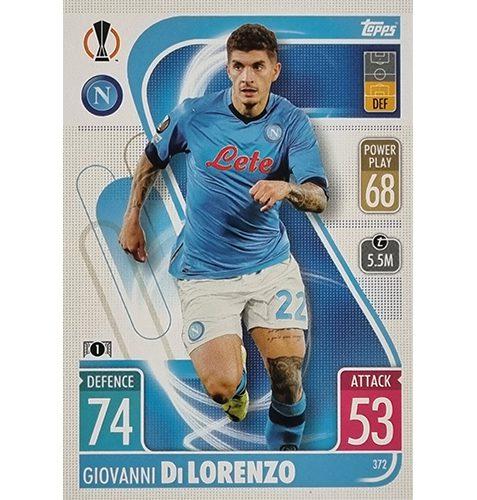 Topps Champions League 2021/2022 Nr 372 Giovanni Di Lorenzo