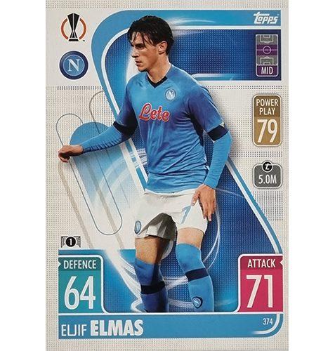 Topps Champions League 2021/2022 Nr 374 Eljif Elmas