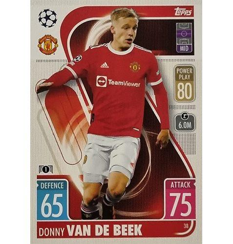 Topps Champions League 2021/2022 Nr 038 Donny Van De Beek