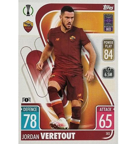 Topps Champions League 2021/2022 Nr 383 Jordan Veretout