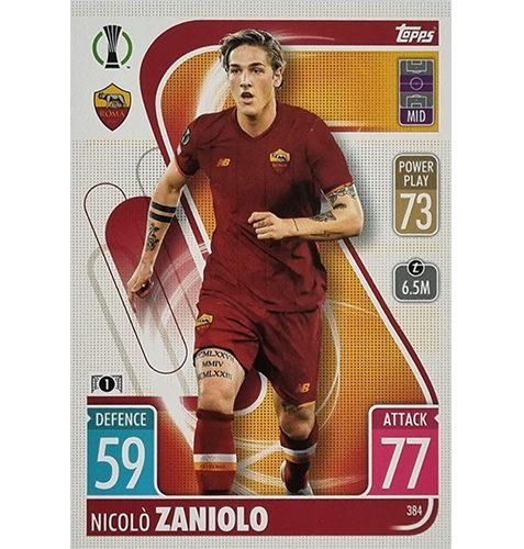 Topps Champions League 2021/2022 Nr 384 Nicolo Zaniolo