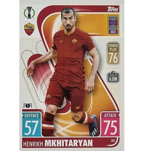 Topps Champions League 2021/2022 Nr 385 Henrikh Mkhitaryan