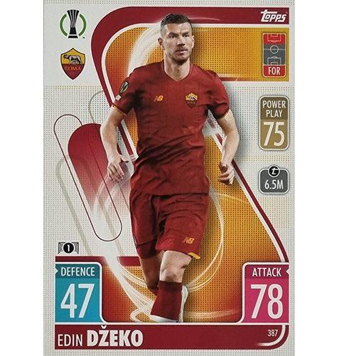 Topps Champions League 2021/2022 Nr 387 Edin Dzeko