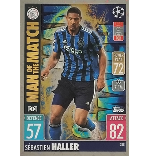 Topps Champions League 2021/2022 Nr 388 Sebastien Haller