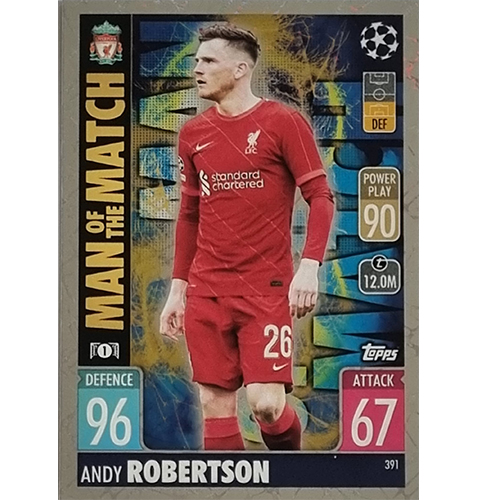 Topps Champions League 2021/2022 Nr 391 Andy Robertson