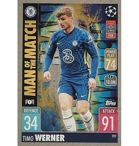 Topps Champions League 2021/2022 Nr 392 Timo Werner