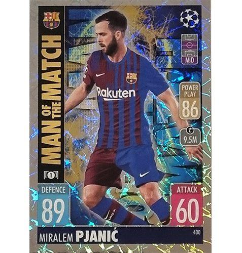 Topps Champions League 2021/2022 Nr 400 Miralem Pjanic