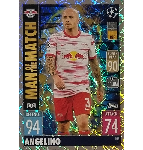 Topps Champions League 2021/2022 Nr 406 Angelino