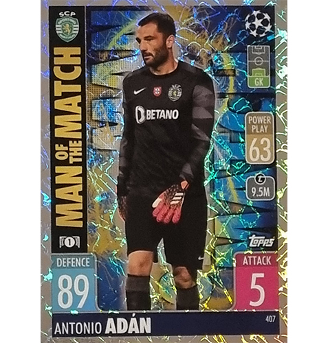 Topps Champions League 2021/2022 Nr 407 Antonio Adan