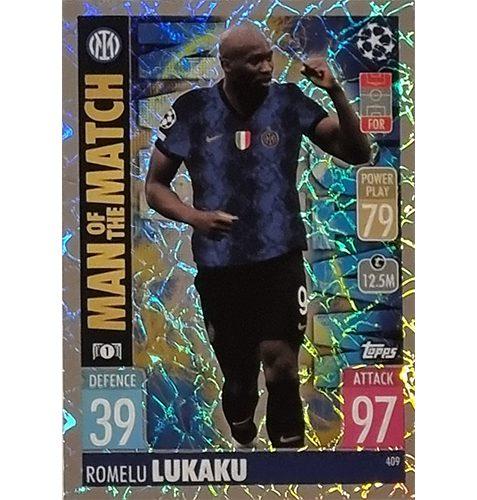 Topps Champions League 2021/2022 Nr 409 Romelu Lukaku