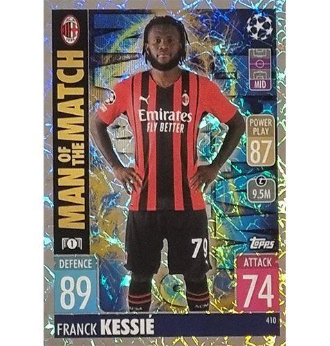Topps Champions League 2021/2022 Nr 410 Franck Kessie