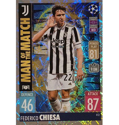 Topps Champions League 2021/2022 Nr 412 Federico Chiesa