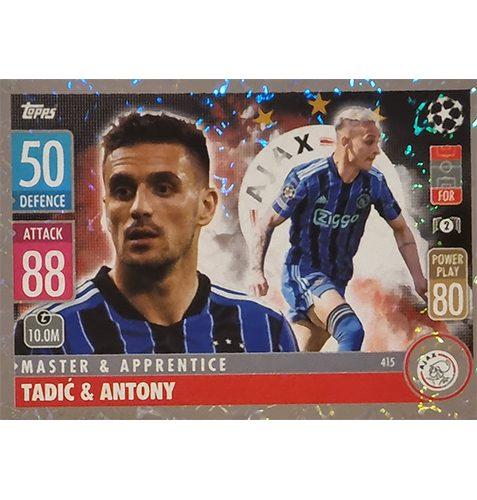 Topps Champions League 2021/2022 Nr 415 Tadic und Antony