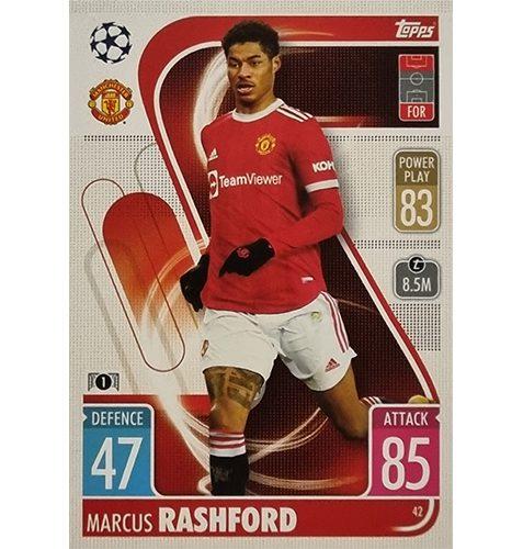 Topps Champions League 2021/2022 Nr 042 Marcus Rashford
