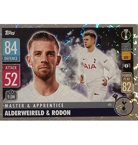 Topps Champions League 2021/2022 Nr 422 Alderweireld und Rodon