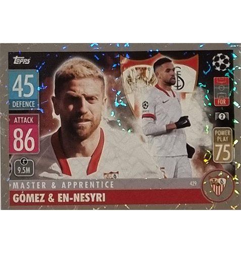 Topps Champions League 2021/2022 Nr 429 Gomez und En Nesyri