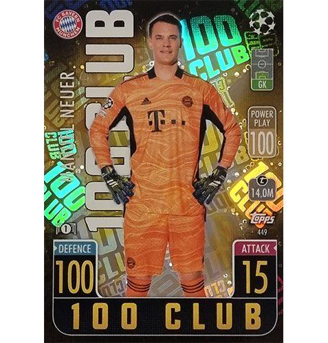 Topps Champions League 2021/2022 Nr 449 Manuel Neuer
