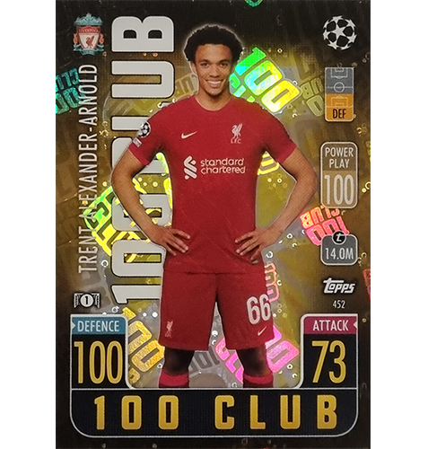Topps Champions League 2021/2022 Nr 452 Trent Alexander Arnold
