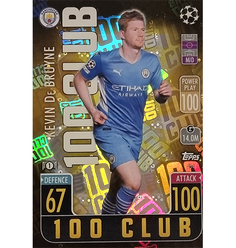 Topps Champions League 2021/2022 Nr 454 Kevin De Bruyne